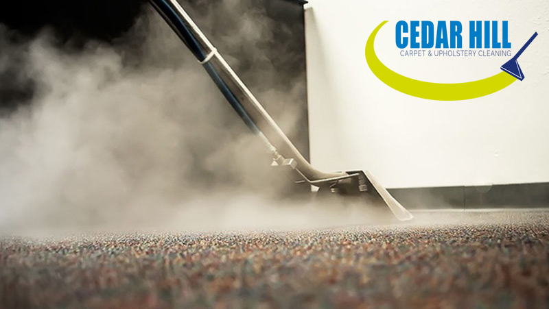 carpet cleaning cedar hill logo